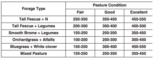 Pasture Inventory: How to Estimate Available Forage in Pasture